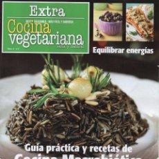 Coleccionismo de Revistas y Periódicos: COCINA VEGETARIANA EXTRA N. 6 - GUIA PRACTICA Y RECETAS DE COCINA MACROBIOTICA (NUEVA). Lote 52028691