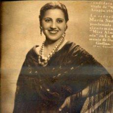 Coleccionismo de Revistas y Periódicos: REVISTA CRÓNICA Nº 283 - 14 ABRIL 1935 - MANASSÉ . Lote 52135895