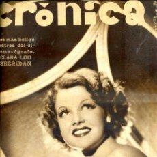 Coleccionismo de Revistas y Periódicos: REVISTA CRÓNICA Nº 271 - 20 ENERO 1935 - MANASSÉ . Lote 52135947