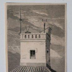 Coleccionismo de Revistas y Periódicos: GRABADO REVISTA ILUSTRACION ESPAÑOLA Y AMERICANA DE 1880. OBSERVATORIO METEOROLÓGICO DE PALENCIA. Lote 52198130