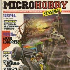 Collectionnisme de Revues et Journaux: MICROHOBBY SEMANAL Nº 55. Lote 52278425