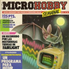 Collectionnisme de Revues et Journaux: MICROHOBBY SEMANAL Nº 56. Lote 52278458