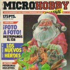 Collectionnisme de Revues et Journaux: MICROHOBBY SEMANAL Nº 57. Lote 52278483