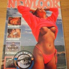 Coleccionismo de Revistas y Periódicos: NEWLOOK # 6 / 1986 ~ HARLEY DAVIDSON ~HARRIET WILKINSON ~ ALPINISMO~ TATUAJE ~ JEAN PIERRE BOURGEOIS. Lote 52298293