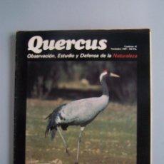 Coleccionismo de Revistas y Periódicos: REVISTA QUERCUS. CUADERNO 45. NOVIEMBRE 1989. Lote 52307456