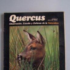 Coleccionismo de Revistas y Periódicos: REVISTA QUERCUS. CUADERNO 42. AGOSTO 1989. Lote 52307538