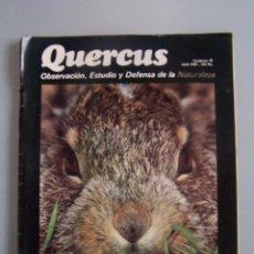 Coleccionismo de Revistas y Periódicos: REVISTA QUERCUS. CUADERNO 38. ABRIL 1989. Lote 52307747