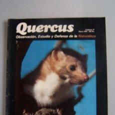Coleccionismo de Revistas y Periódicos: REVISTA QUERCUS. CUADERNO 37. MARZO 1989. Lote 52307931
