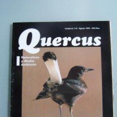 Coleccionismo de Revistas y Periódicos: REVISTA QUERCUS. CUADERNO 114. AGOSTO 1995. Lote 52313262