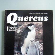 Coleccionismo de Revistas y Periódicos: REVISTA QUERCUS. CUADERNO 82. DICIEMBRE 1992. Lote 52313865