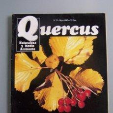 Coleccionismo de Revistas y Periódicos: REVISTA QUERCUS. CUADERNO 75. MAYO 1992. Lote 52313969