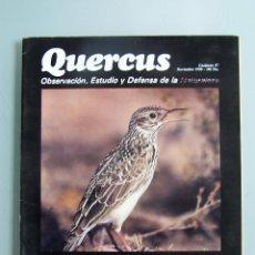 Coleccionismo de Revistas y Periódicos: REVISTA QUERCUS. CUADERNO 57. NOVIEMBRE 1990. Lote 52314268