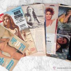 Coleccionismo de Revistas y Periódicos: REPORTAJES, RECORTES Y PORTADAS - RAQUEL WELCH. Lote 52317329