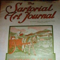 Coleccionismo de Revistas y Periódicos: REVISTA THE SARTORIAL ART JOURNAL 1917 Nª 4 USA MODA PATRONES MITCHELL LEVITA TRAJE MONTAR SASTRERIA. Lote 52317419