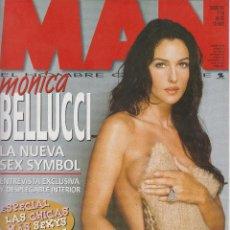 Coleccionismo de Revistas y Periódicos: MAN Nº 160 FEBRERO 2001 , SILVIA ABASCAL, MONICA BELLUCCI, REPORTAJE GRAFICO + POSTER DESPLEGABLE. Lote 52407778
