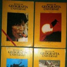Coleccionismo de Revistas y Periódicos: REVISTA DE GEOGRAFÍA UNIVERSAL - VOLUMEN 1 - NÚMS 1, 4, 5 Y 6 - AÑO 1977. Lote 52455261
