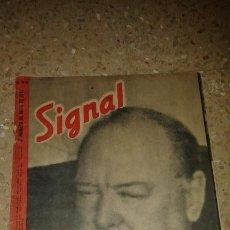 Coleccionismo de Revistas y Periódicos: ANTIGUA REVISTA SIGNAL, EDIC. ESPAÑOLA, ABRIL 1943. Lote 52520704