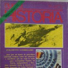 Coleccionismo de Revistas y Periódicos: MONOGRÁFICO REVISTA NUEVA HISTORIA. LA AVENTURA DEL MAQUIS EN ESPAÑA. Lote 52542263