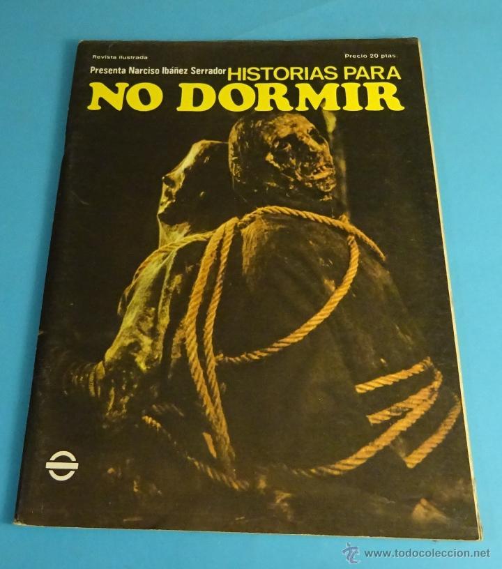 HISTORIAS PARA NO DORMIR. NARCISO IBÁÑEZ SERRADOR. VOL VII- Nº 8 - AGOSTO - DICIEMBRE 1973 (Coleccionismo - Revistas y Periódicos Modernos (a partir de 1.940) - Otros)