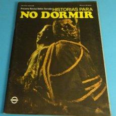 Coleccionismo de Revistas y Periódicos: HISTORIAS PARA NO DORMIR. NARCISO IBÁÑEZ SERRADOR. VOL VII- Nº 8 - AGOSTO - DICIEMBRE 1973. Lote 52559773