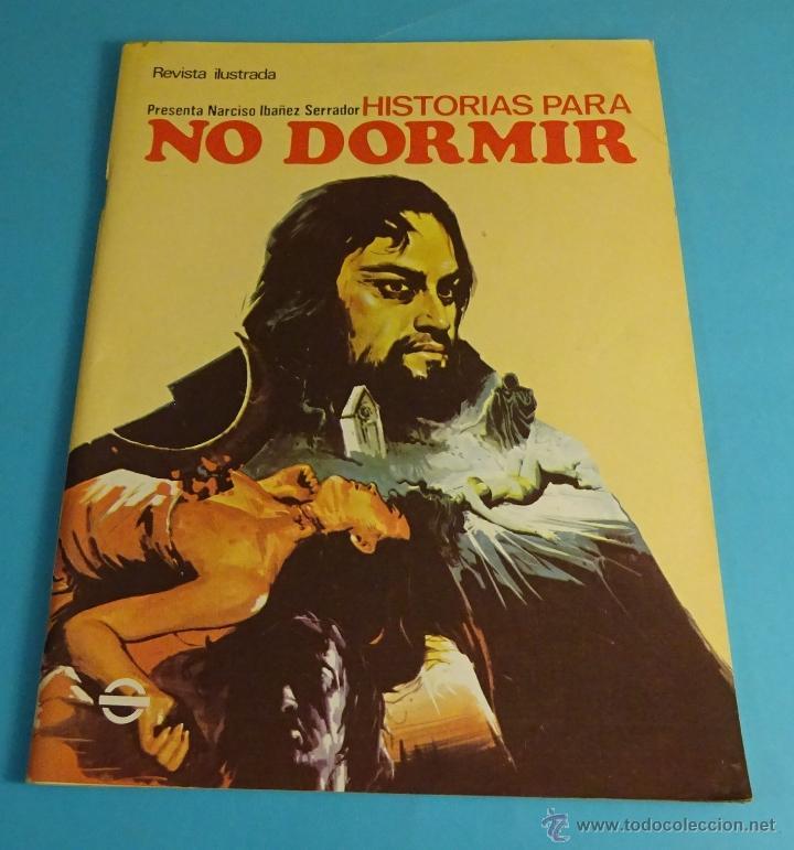 HISTORIAS PARA NO DORMIR. NARCISO IBÁÑEZ SERRADOR. VOL VII- Nº 7 - JULIO 1973 (Coleccionismo - Revistas y Periódicos Modernos (a partir de 1.940) - Otros)
