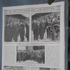 Coleccionismo de Revistas y Periódicos: HLN- 1912- CENTENARIO CORTES CÁDIZ, ALCALDE, MINISTROS, DIPUTACIÓN, CRUZ LAUREADA, SAN FERNANDO. Lote 52566971