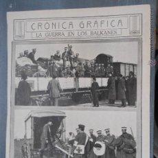 Coleccionismo de Revistas y Periódicos: HLN- 1912- GUERRA BALKANES, CRUZ ROJA, ANDRINÓPOLIS. Lote 52568046