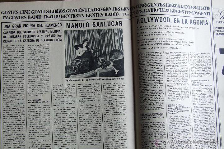 Coleccionismo de Revistas y Periódicos: NUESTRA CIUDAD 43 NAVIDAD MANOLO SANLUCAR ELVIS PRESLEY ESCALONA EL TOBOSO MEDINA DEL CAMPO ALCARAZ - Foto 3 - 52573832