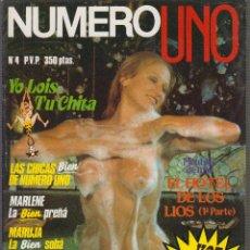 Coleccionismo de Revistas y Periódicos - NUMERO UNO Nº 4 ILLONA STALLER , MANTIENE SUPLEMENTO , REVISTA DE LOS 80 - 99715943
