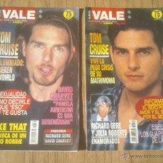 Coleccionismo de Revistas y Periódicos: REVISTA VALE. TOM CRUISE;1995. Lote 52613730