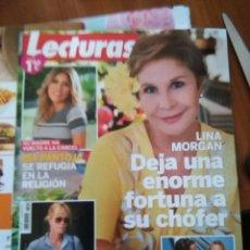 Coleccionismo de Revistas y Periódicos: RECORTE LINA MORGAN . Lote 52619151