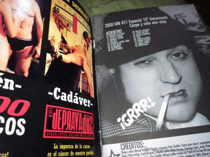Coleccionismo de Revistas y Periódicos: 2000 MANIACOS NÚMERO 21. ESPECIAL 10 ANIVERSARIO. MUY BUSCADO!!! - Foto 3 - 52625648
