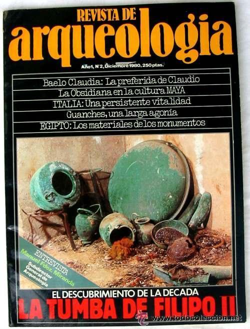 REVISTA DE ARQUEOLOGÍA Nº 2 / DICIEMBRE 1980 - ZUGARTO EDICIONES - VER ÍNDICE (Coleccionismo - Revistas y Periódicos Modernos (a partir de 1.940) - Otros)