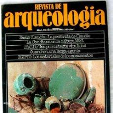 Coleccionismo de Revistas y Periódicos: REVISTA DE ARQUEOLOGÍA Nº 2 / DICIEMBRE 1980 - ZUGARTO EDICIONES - VER ÍNDICE. Lote 158571593