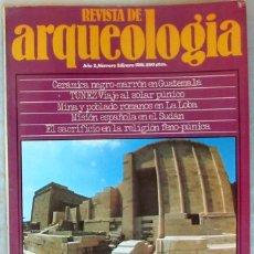 Coleccionismo de Revistas y Periódicos: REVISTA DE ARQUEOLOGÍA Nº 3 / ENERO 1981 - ZUGARTO EDICIONES - VER ÍNDICE. Lote 52634308
