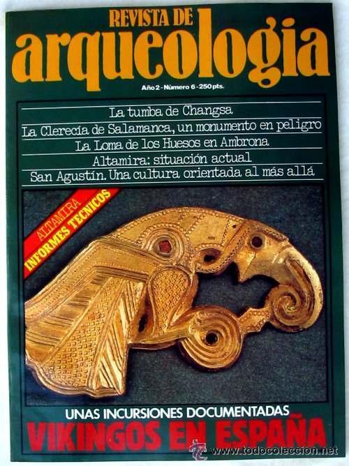 REVISTA DE ARQUEOLOGÍA Nº 6 / ABRIL 1981 - ZUGARTO EDICIONES - VER ÍNDICE (Coleccionismo - Revistas y Periódicos Modernos (a partir de 1.940) - Otros)