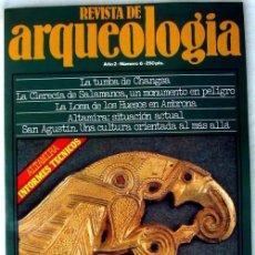Coleccionismo de Revistas y Periódicos: REVISTA DE ARQUEOLOGÍA Nº 6 / ABRIL 1981 - ZUGARTO EDICIONES - VER ÍNDICE. Lote 55290917