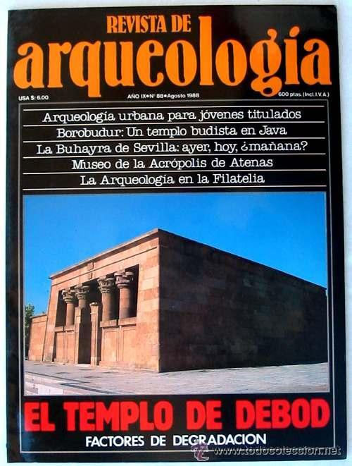 REVISTA DE ARQUEOLOGÍA Nº 88 / AGOSTO 1988 - ZUGARTO EDICIONES - VER ÍNDICE (Coleccionismo - Revistas y Periódicos Modernos (a partir de 1.940) - Otros)