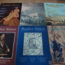 Coleccionismo de Revistas y Periódicos: REALES SITIOS ( 88 REVISTAS ). Lote 52690128