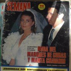 Coleccionismo de Revistas y Periódicos: REVISTA SEMANA N.2209 19 JUNIO 1982. Lote 52708667