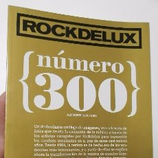 Coleccionismo de Revistas y Periódicos: ROCK DE LUX. NÚMERO 300. NOVIEMBRE 2011. Lote 52712006