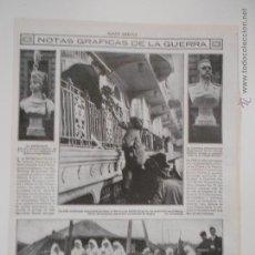Coleccionismo de Revistas y Periódicos: HLN- 1914- GUERRA EUROPEA, LONDRES, GENERAL HINDENBURG, CRUZ ROJA AUBERVILLIERS. Lote 52720955