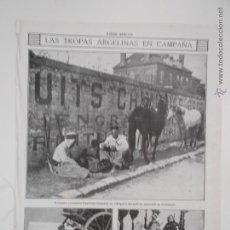 Coleccionismo de Revistas y Periódicos: HLN- 1914- TROPAS ARGELINAS, MILITARES. Lote 52721018