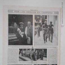 Coleccionismo de Revistas y Periódicos: HLN- 1914- HERIDOS DE GUERRA, BERLÍN, DAMAS DE LA CRUZ ROJA, WURTEMBERG. Lote 52721045