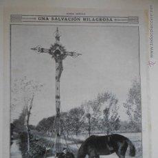 Coleccionismo de Revistas y Periódicos: HLN- 1914- SALVACIÓN MILAGROSA, SOLDADO BELGA ESCAPA DE LOS ALEMANES, MILITARES. Lote 52721578