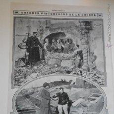 Coleccionismo de Revistas y Periódicos: HLN- 1914- SEPULCRO DEL RENACIMIENTO FLANDES, DAMAS CRUZ ROJA FRANCESA. Lote 52722359