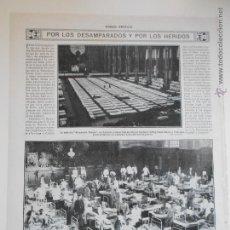 Coleccionismo de Revistas y Periódicos: HLN- 1914- DESAMPARADOS Y HERIDOS, LONDRES, BERLÍN. Lote 52722498
