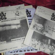 Coleccionismo de Revistas y Periódicos: MAGNIFICOS 13 EJEMPLARES ASOCIACION AMIGOS DEL PUEBLO SAN SADURNI DE ANOIA,BOLETIN INFORMATIVO. Lote 52729361