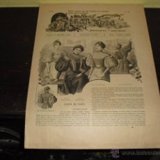 Coleccionismo de Revistas y Periódicos: REVISTA GRAN MODA Nº 55 - 20 MARZO DE 1896 -. Lote 52732708