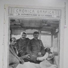 Coleccionismo de Revistas y Periódicos: HLN- 1914- AUTOMOVILISMO EN LA GUERRA, AUTOBÚS DE LONDRES. Lote 52775409
